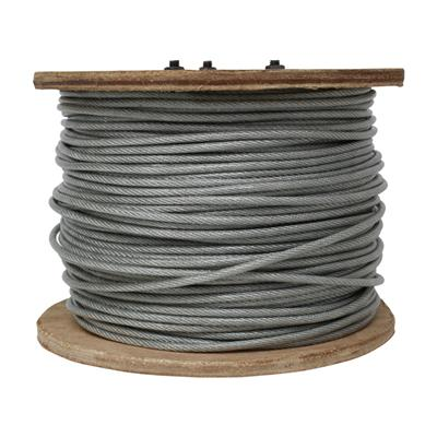 "Cable Acero C/Forro 1/8"" (3.0 x 4.0mm)"