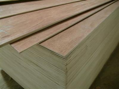 "Plywood Madera 1 Cara (2.7mm) 1/8"" x 4' x 8' W/V O"