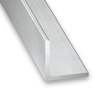 "Angular Aluminio 1/16"" x 1 1/2"" x 1 1/2"" x 20' DS-"