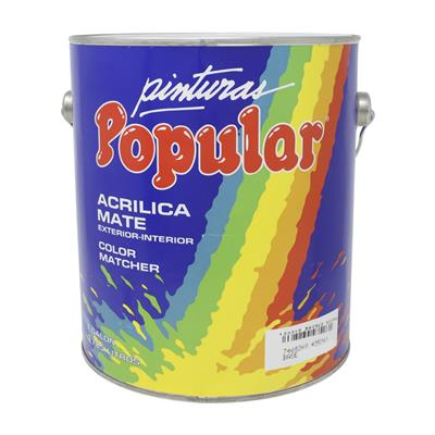 Pintura Aceite Popular Matcher Base Intensa 800922