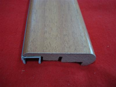 Borde Piso Madera Lamin. 8' Red Walnut 6353A