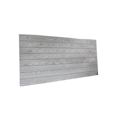 "Plywood Decorativo 1/8"" 4' x 8' Blanco #1Veta Gris"